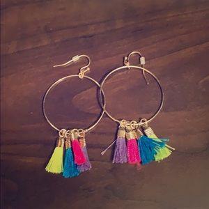 Jewelry - NWOT Costume Hoop Earrings